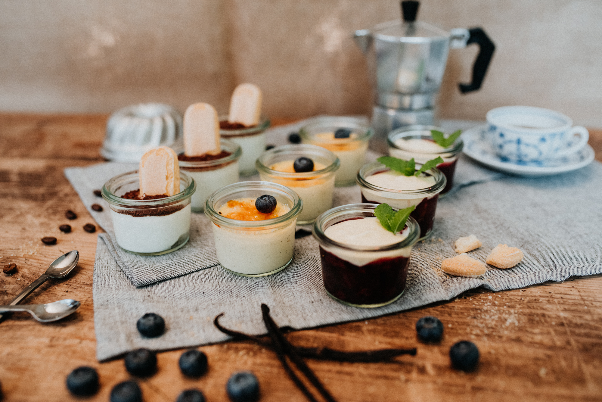"""Dessert – Variation """"Von Ciao bis Moin"""""""