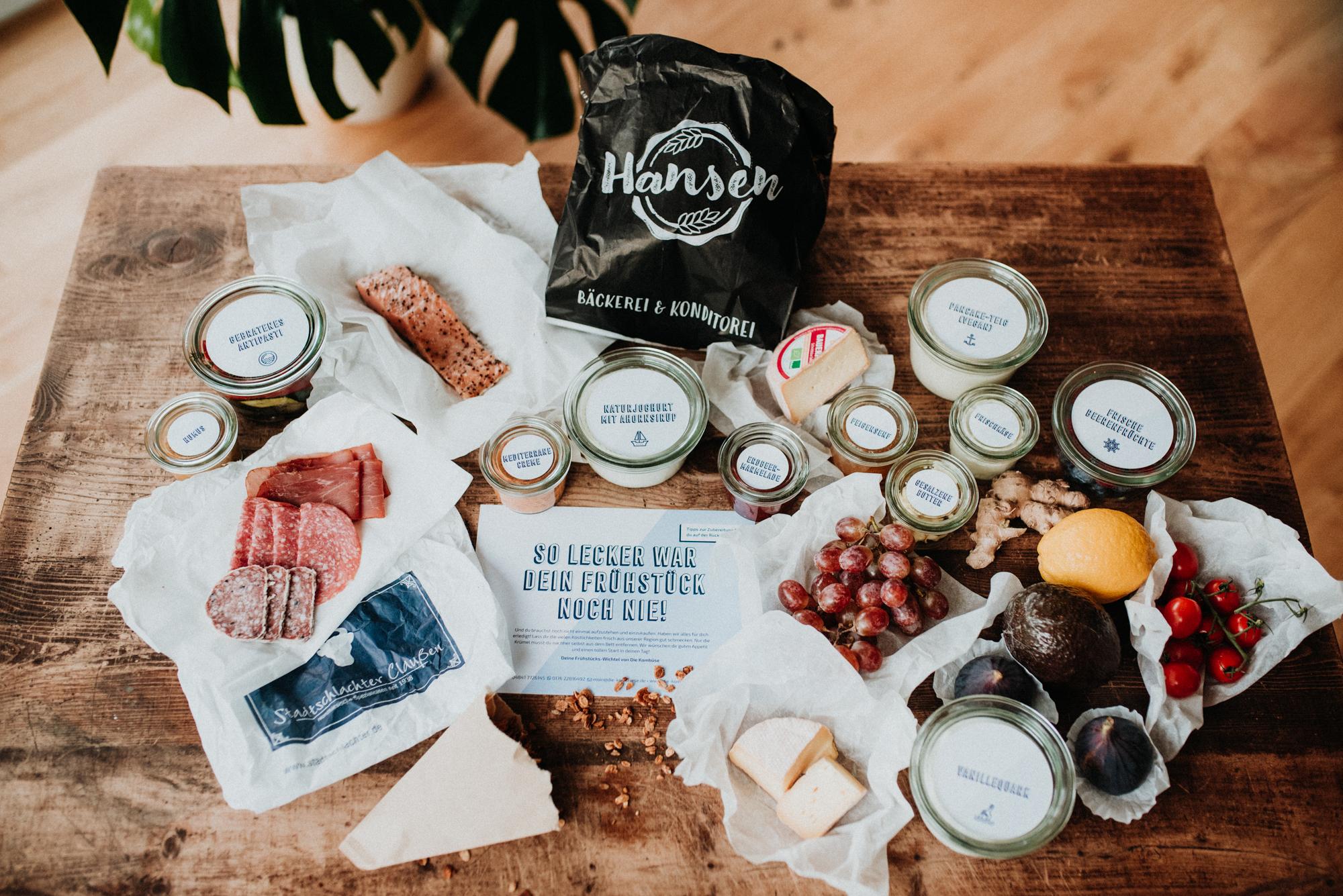 Frühstücksbox - veggie @home (für 2 Personen)