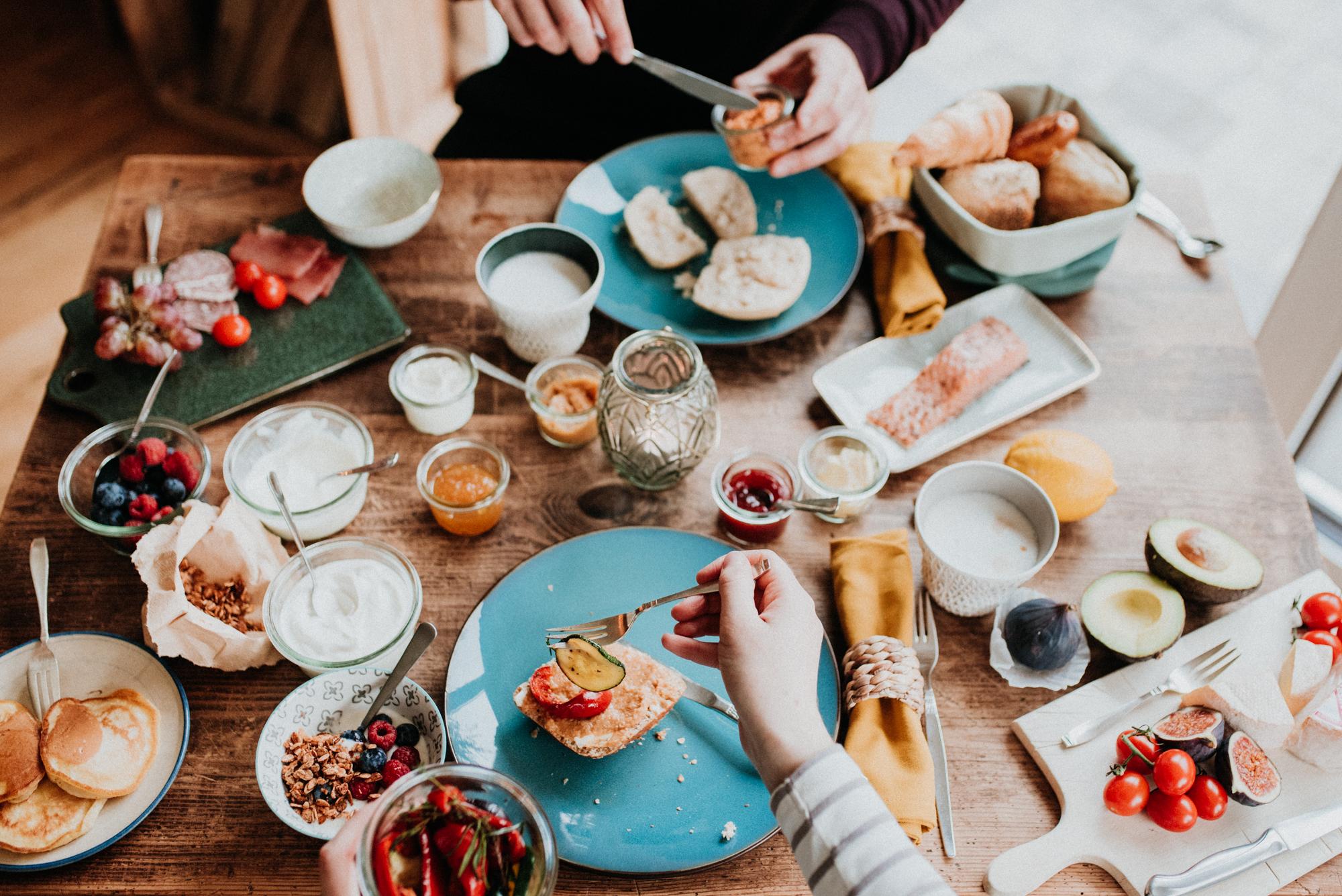 Frühstücksbox - deluxe @home (für 2 Personen)